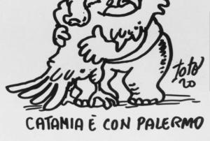 """Il sindaco di Catania: """"Uniti a Palermo nel dolore, siamo tutti fratelli"""" / FOTO"""